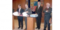 Award of contract signing for the construction of the OAJ